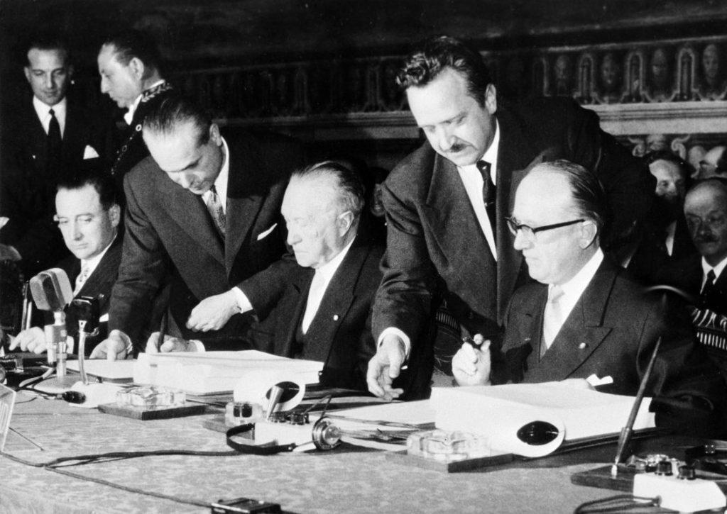 Római Szerződés aláírása